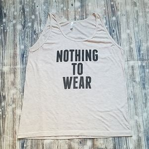 Tank Top With Quote